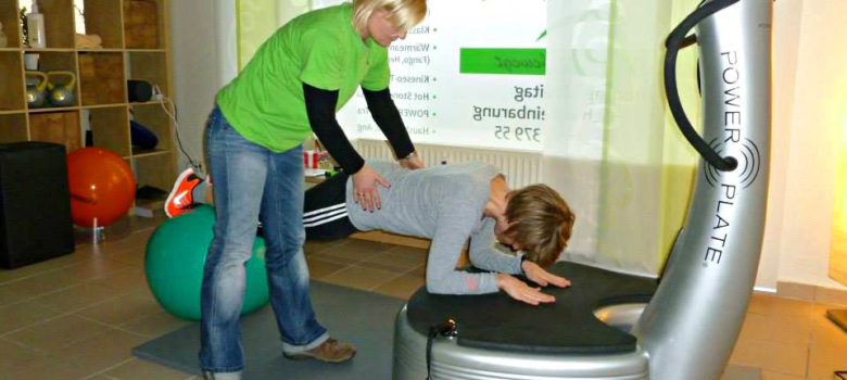 Powerplate-Training PhysioPlus Eisbergen