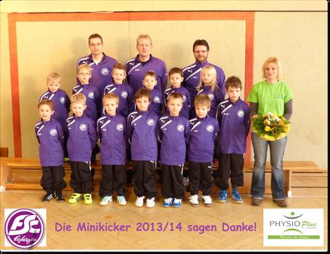Sponsoring Minikicker SC Eisbergen